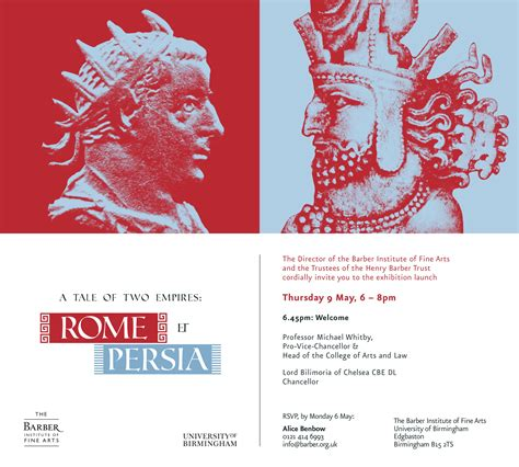 persia rome tale empires exhibition launch thu