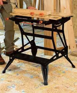 Black Decker Work Bench by Black And Decker 825 Workmate Workbenche Review Compare