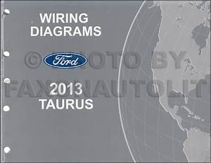 2014 Ford Taurus Electrical Wiring Diagram Manual Oem New