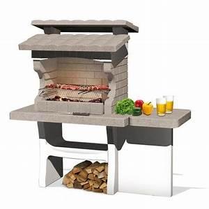 Barbecue Beton Leroy Merlin Barbecue En B Ton Beige Et Gris Luxor