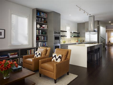 Modern Living Room Design Breaking With One Past And
