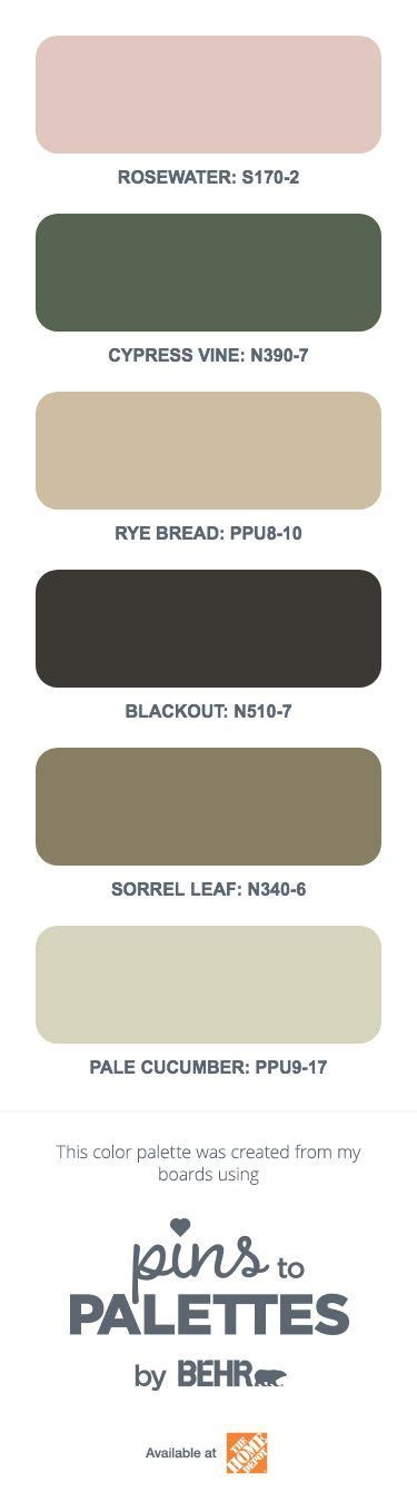 this pins to palettes tool by behr paint generates a unique color scheme for your home this