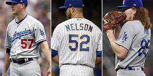 Baseball Player Rotation Chart Dodgers Spring Training Roster Battle Is In Starting