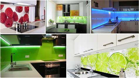 Painted Backsplash Ideas Kitchen - lacobel szkło w kuchni panele szklane pomiędzy szafki kuchenne youtube