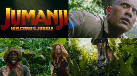 ドウェイン・ジョンソン主演でリメイクされた「jumanji Welcome To The Jungle」公式