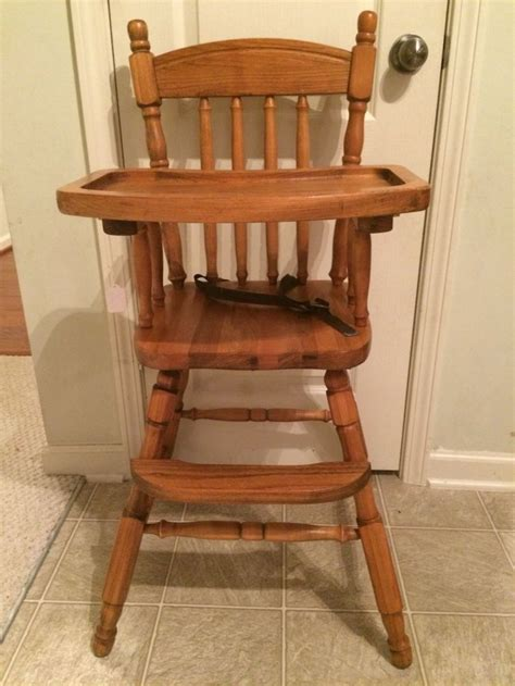 Lind Cherry Wood High Chair by 17 Best Ideas About Vintage High Chairs On