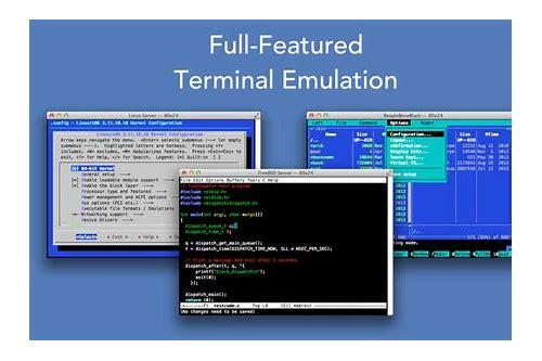 baixar mac os x terminal emulator