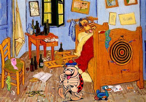 la chambre coucher gogh artplafox 5eme sujet 5 intrusion