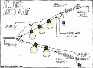 Landscape lighting wiring diagram : A way you can add string of lights to the garage with an