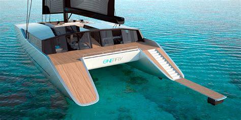Catamaran Design News by Sunreef Unveils A New Mega Catamaran Design The One