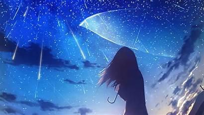 Rain Anime 4k Umbrella Wallpapers Water Backgrounds