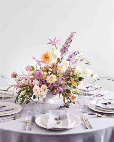 60 Idées Pour La Déco Mariage Avec Centre De Table Fleurs