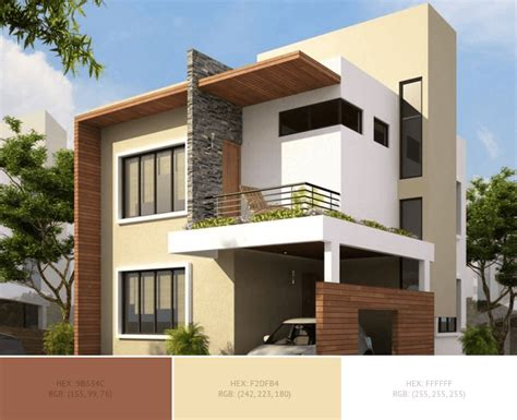 home exterior color combinations  design ideas blog schemecolorcom