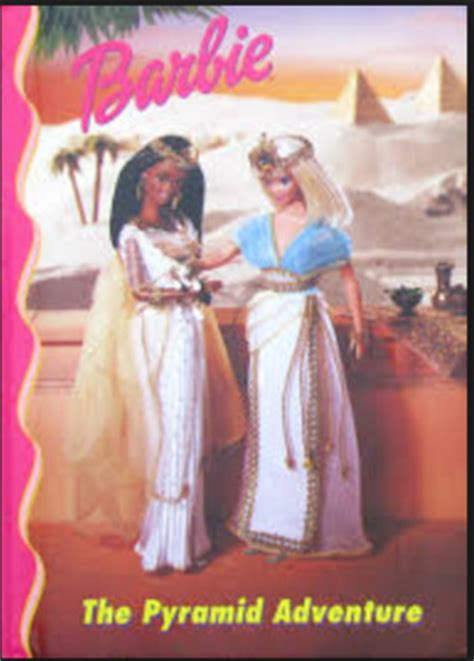 pyramid adventure barbie  friends book club