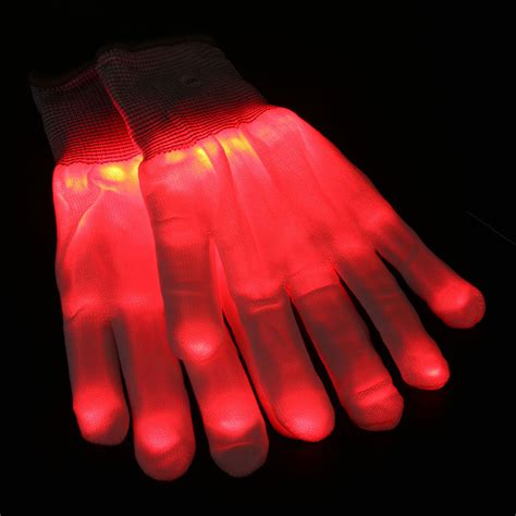 light up gloves led gloves finger light up skeleton fancy club