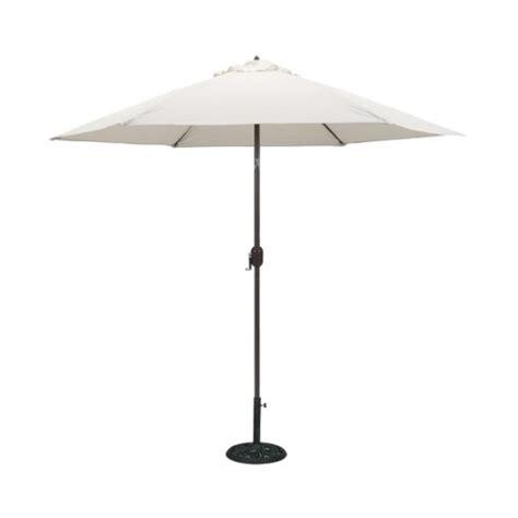 9' Round Crank Patio Umbrella  Canvas Target