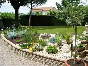 deco jardin pierre blanche With creation allee de jardin 5 galerie photos amenagement paysagiste lamballe