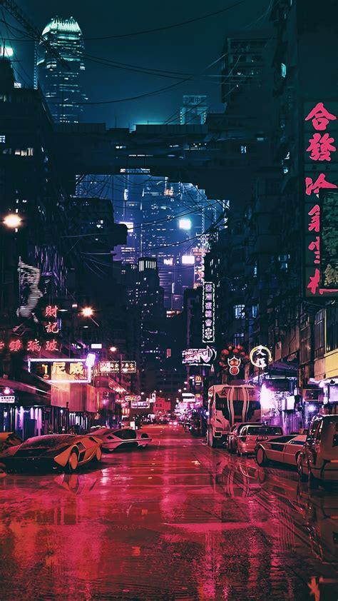 wallpaper futuristic future world night  art