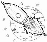 Rocket Coloring Aircraft Books Pages Simple Ages Complex Patterns sketch template