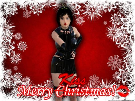 3d Breasts Christmas Female Only Hypnotic Kiss Kissing