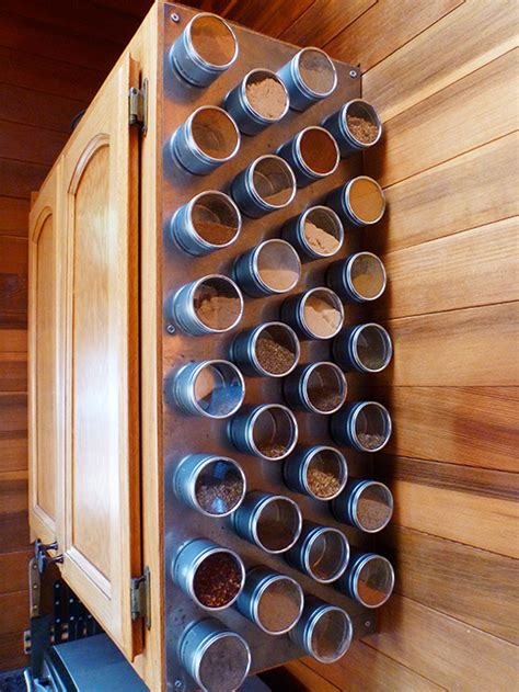 How To Make A Magnetic Spice Rack by Spice Rack Storage Solutions Sand And Sisal