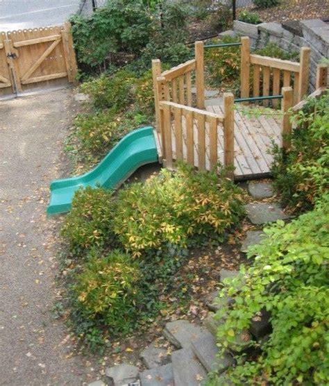 embankment slide backyard playground backyard play