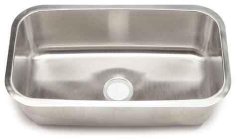 clark kitchen sinks stainless steel clark stainless steel large single bowl undermount 8213