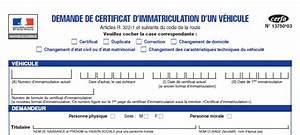 Demande De Carte Grise Ants : certificat d 39 immatriculation ~ Medecine-chirurgie-esthetiques.com Avis de Voitures
