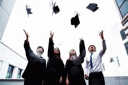 Graduation Gifs Caps Cap Throwing Tossing Animation