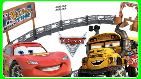 Demolition Derby Cars Toys by Cars 3 Toys Smash And Crash Derby Lightning Mcqueen Miss