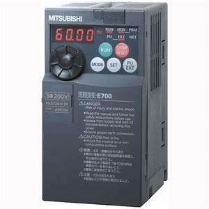 China Mitsubishi Power Inverter  Fr-e720-1 5k