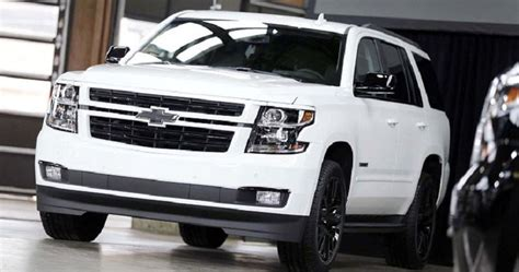 2019 Chevy Tahoe White Weight Wheels Towing Capacity