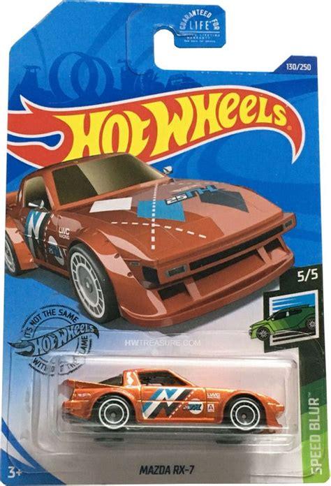 mazda rx  hot wheels  super treasure hunt