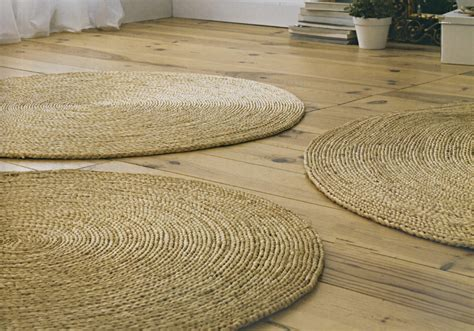 tapis rond paille idees de decoration interieure