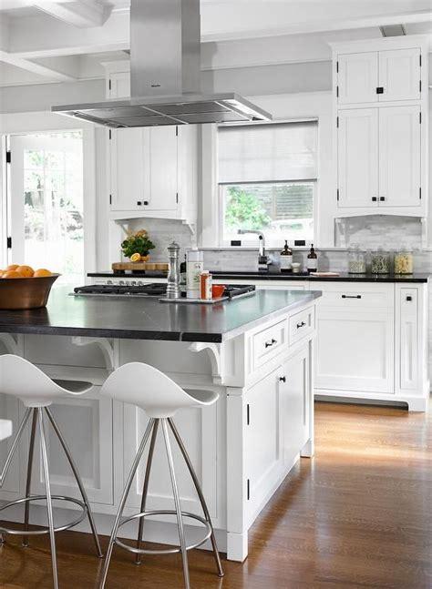 gourmet kitchen islands gourmet kitchen features a stainless steel vent 1276