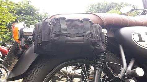 Kawasaki W175 Side Bag by Jual Kawasaki W175 Side Bag Tas Motor Tas Sing Di