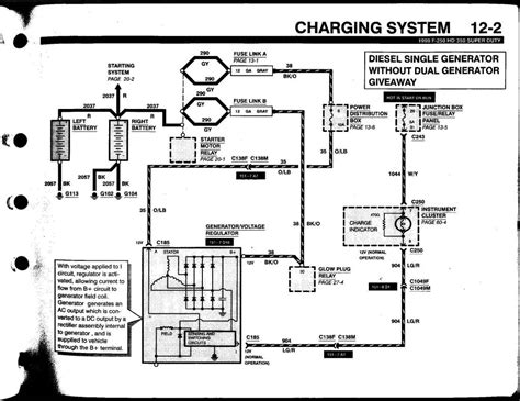 charging system wiring diagram 1999 ford f250 wiring diagram 1999 ford f 250 transmission