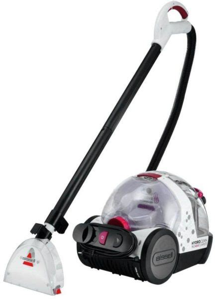 bissell total floors complete bissell hydroclean proheat complete vacuum cleaner 1474e