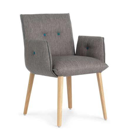 chaise bureau maison du monde fauteuil contemporain de salle à manger en bois et tissu