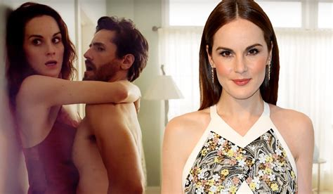 Michelle Dockery Strips For X Rated Sex Scene For Good