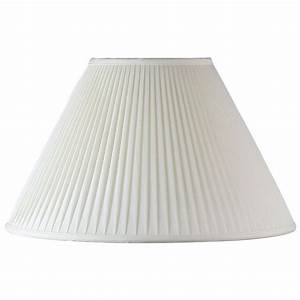 Endon chloe 10 non electric ivory fabric table lamp shade for 7 inch table lamp shades