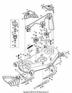 Troy Bilt 13aaa1kq066 Tb2350  2015  Parts Diagram For