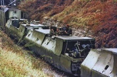 armored trains railway guns