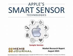 Apple U0026 39 S Smart Sensor Technologies