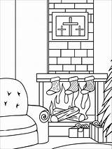 Coloring Chimneys Chimney Printable Template Recommended sketch template