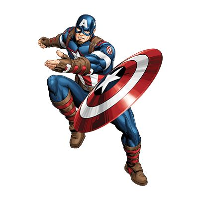 captain america  marvel animated universe heroes