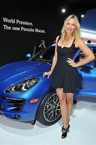 Los Angeles 2013 : maria sharapova porsche macan 39 world premiere los angeles auto show november 2013 ~ Medecine-chirurgie-esthetiques.com Avis de Voitures