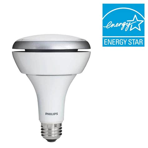 philips 65w equivalent soft white 2700k br30 led flood