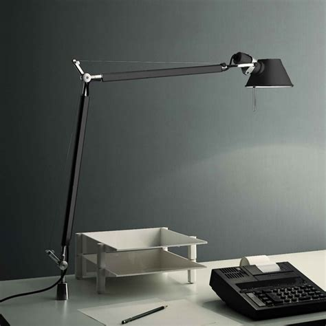 artemide tolomeo tavolo table l with fixed support