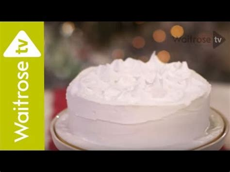 decorate  christmas cake  royal icing waitrose